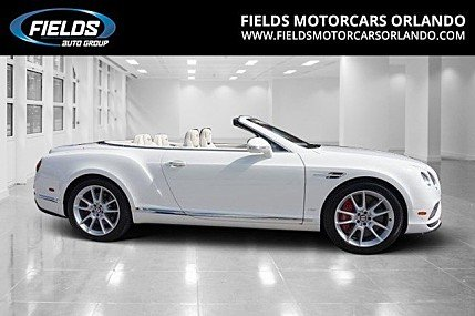 2017 Bentley Continental GT V8 S Convertible for sale 100845648