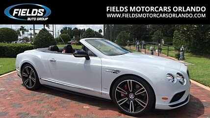 2017 Bentley Continental GT V8 S Convertible for sale 100884219
