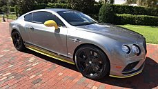 2017 Bentley Continental GT Speed Coupe for sale 100911350