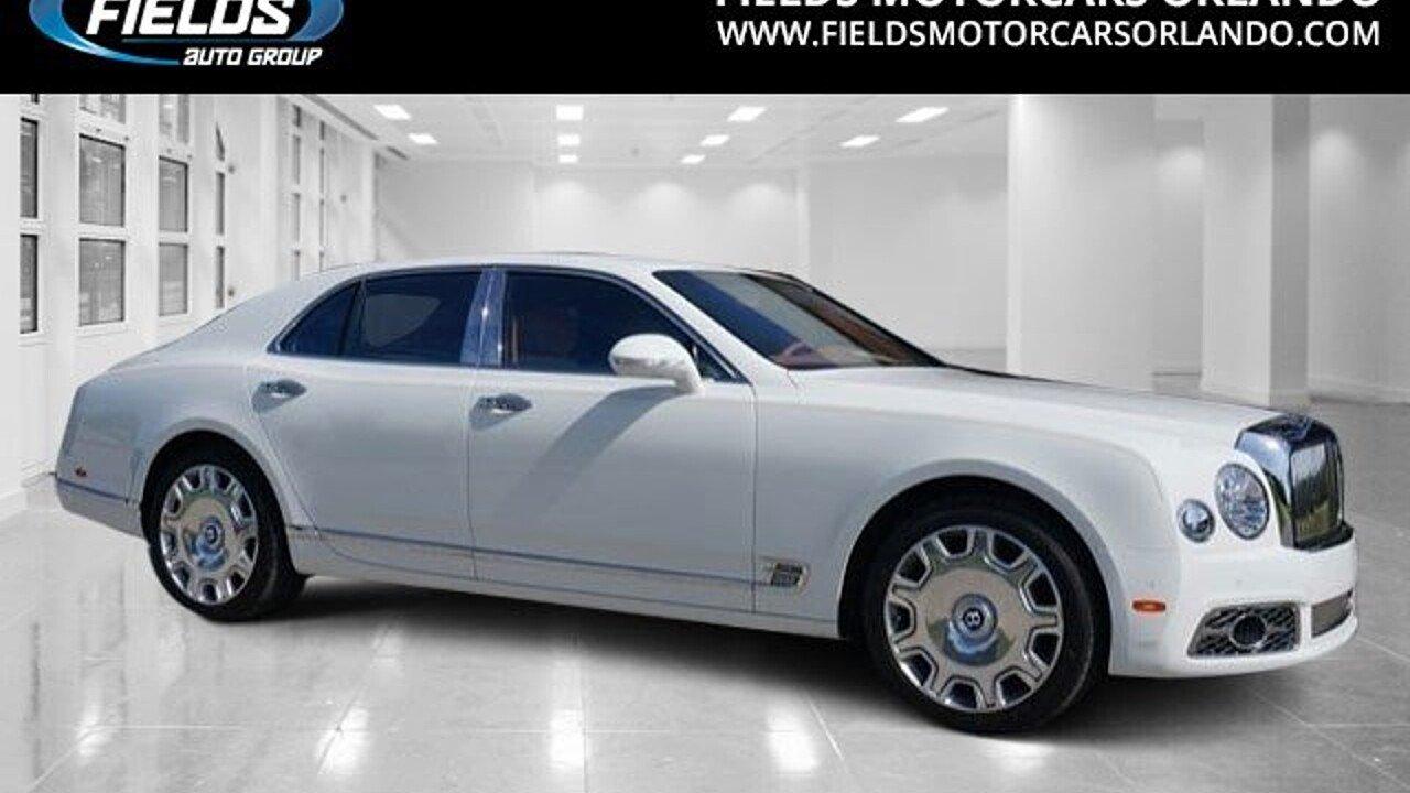 2017 Bentley Mulsanne for sale 100815528