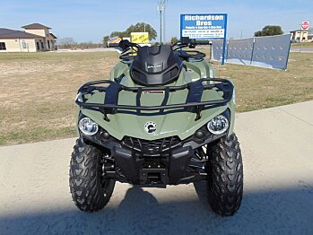 2017 Can-Am Outlander 570 L for sale 200420808