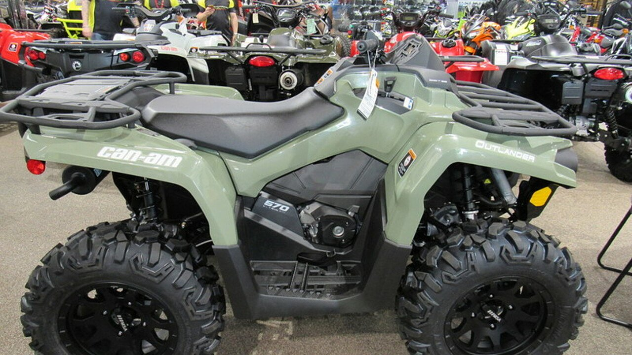 2017 Can-Am Outlander 570 L for sale 200421148