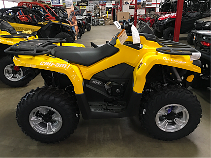 2017 Can-Am Outlander 570 for sale 200415460