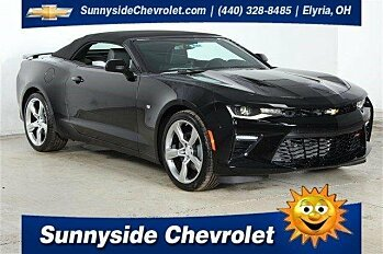 2017 Chevrolet Camaro SS Convertible for sale 100791085