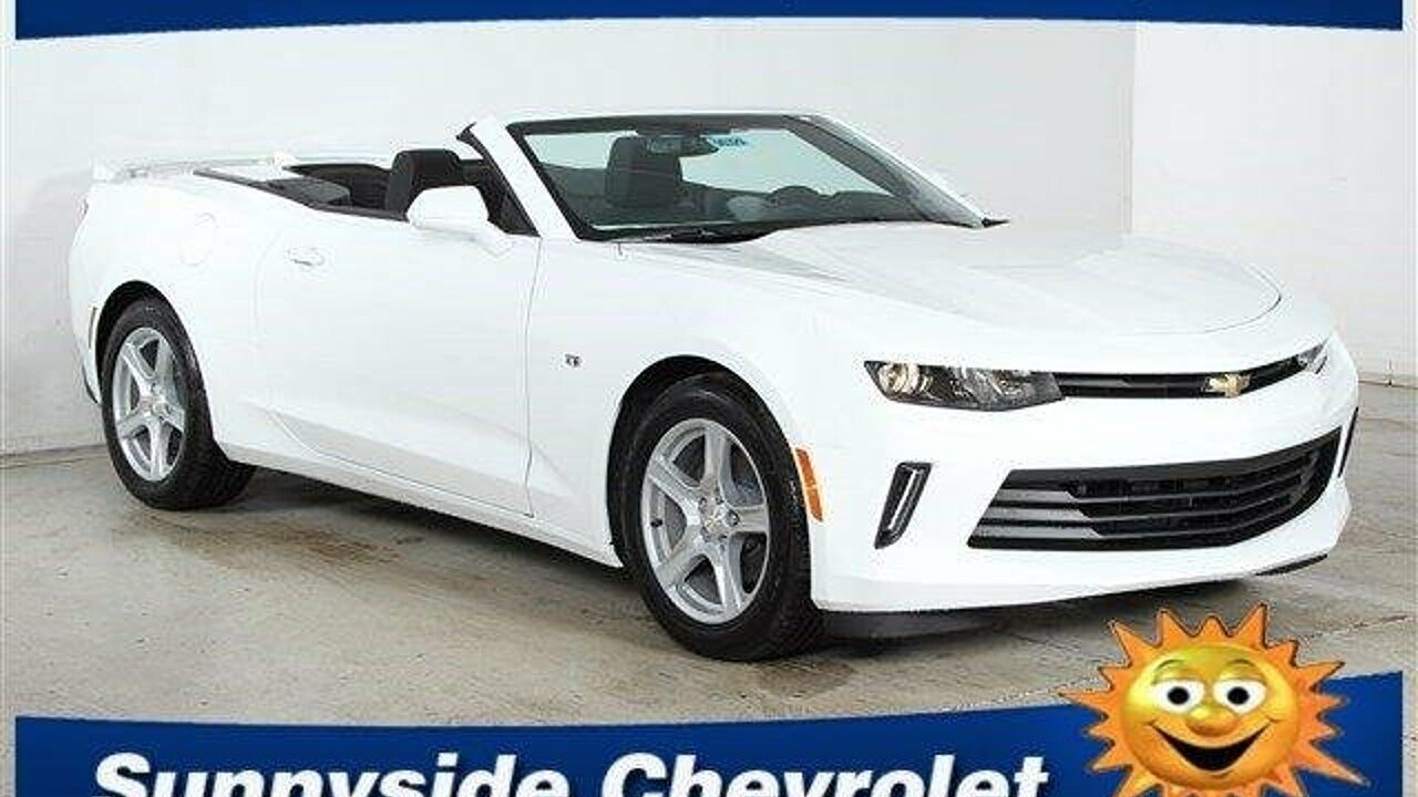 2017 Chevrolet Camaro LT Convertible for sale 100791088