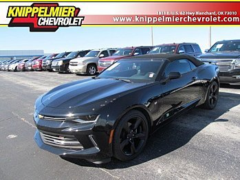 2017 Chevrolet Camaro LT Convertible for sale 100874759