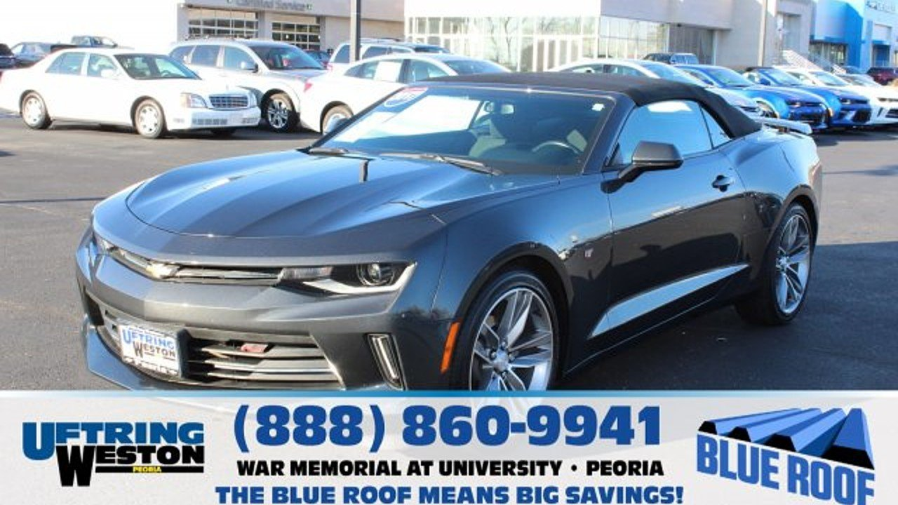 2017 Chevrolet Camaro LT Convertible for sale 100928839