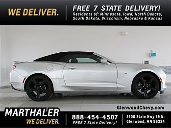 2017 Chevrolet Camaro LT Convertible for sale 100930782