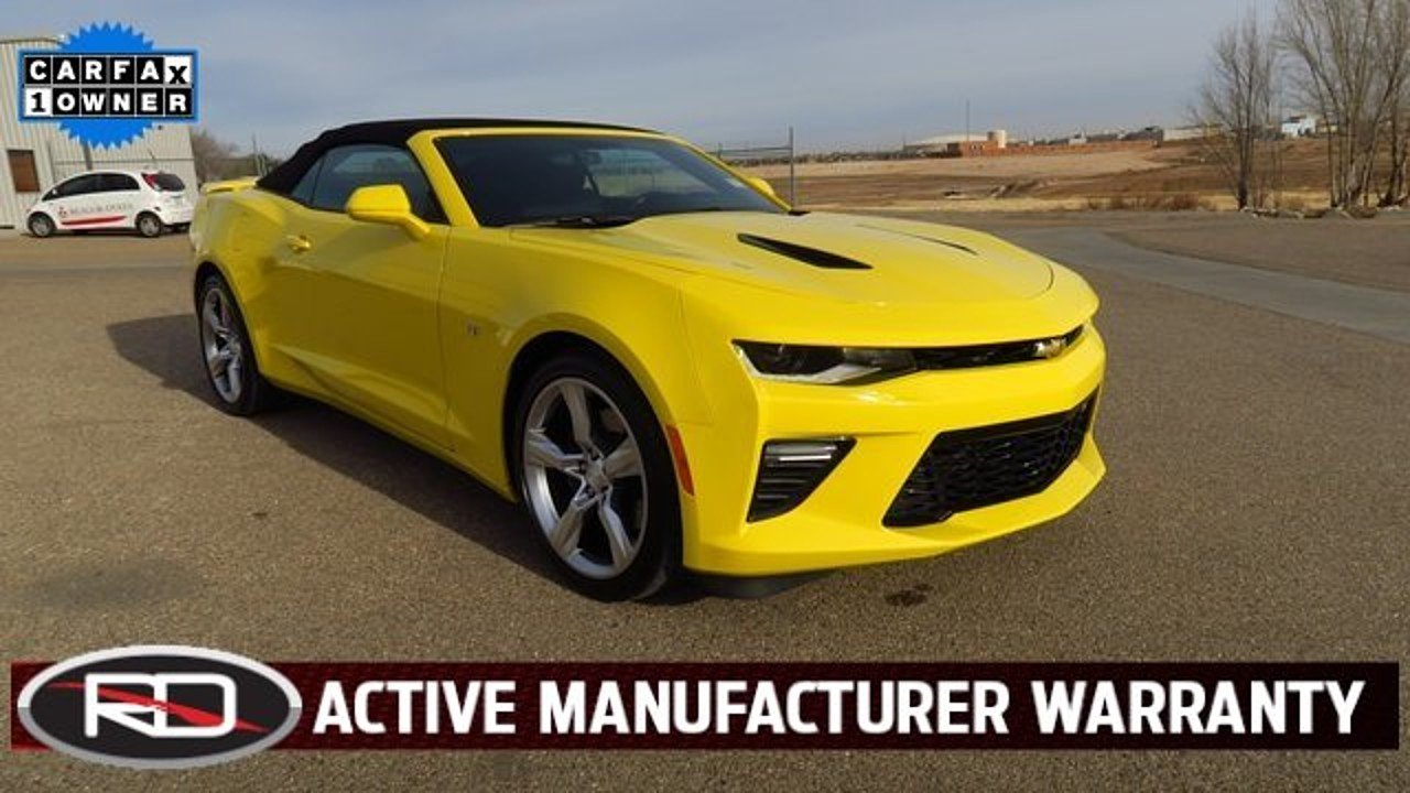 2017 Chevrolet Camaro SS Convertible for sale 100944368