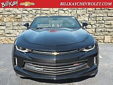 2017 Chevrolet Camaro LT Convertible for sale 100791068