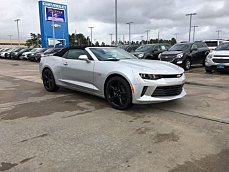 2017 Chevrolet Camaro LT Convertible for sale 100791099