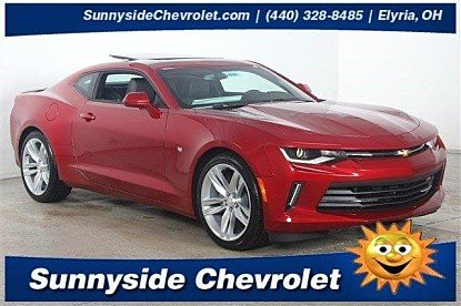 2017 Chevrolet Camaro LT Coupe for sale 100837204