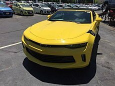 2017 Chevrolet Camaro LT Convertible for sale 100877737