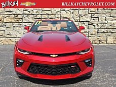 2017 Chevrolet Camaro SS Convertible for sale 100906965