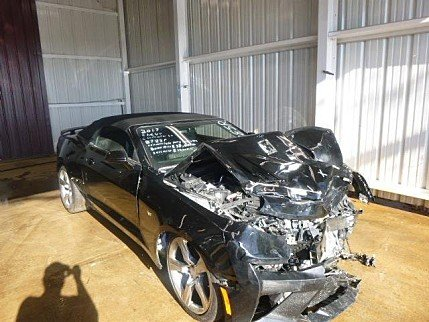 2017 Chevrolet Camaro SS Convertible for sale 100909384