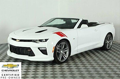 2017 Chevrolet Camaro SS Convertible for sale 100940798