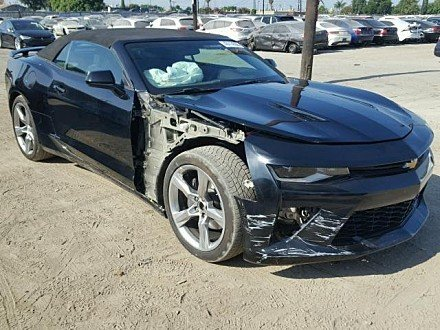 2017 Chevrolet Camaro SS Convertible for sale 101020119