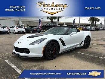 2017 Chevrolet Corvette Z06 Convertible for sale 100850557
