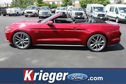 2017 Ford Mustang GT Convertible for sale 100886433
