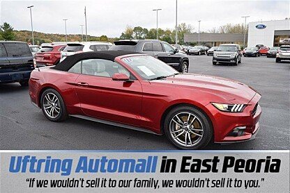 2017 Ford Mustang Convertible for sale 100914524