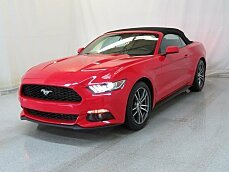 2017 Ford Mustang Convertible for sale 100961846
