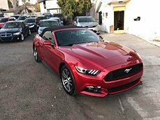 2017 Ford Mustang Convertible for sale 100968318