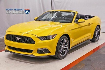 2017 Ford Mustang Convertible for sale 100976487