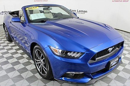2017 Ford Mustang GT Convertible for sale 100985165