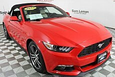 2017 Ford Mustang Convertible for sale 100985171