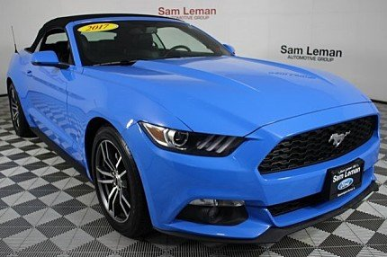 2017 Ford Mustang Convertible for sale 100985174