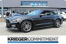2017 Ford Mustang Convertible for sale 100991054