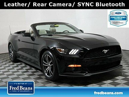 2017 Ford Mustang Convertible for sale 101005658
