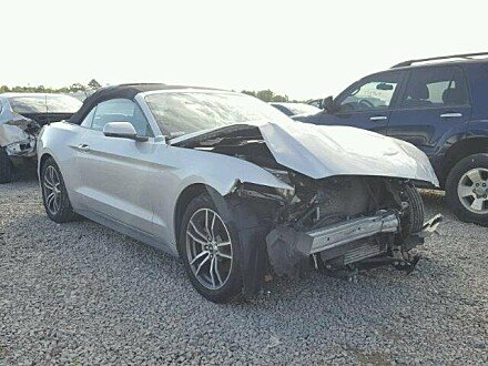2017 Ford Mustang Convertible for sale 101054522
