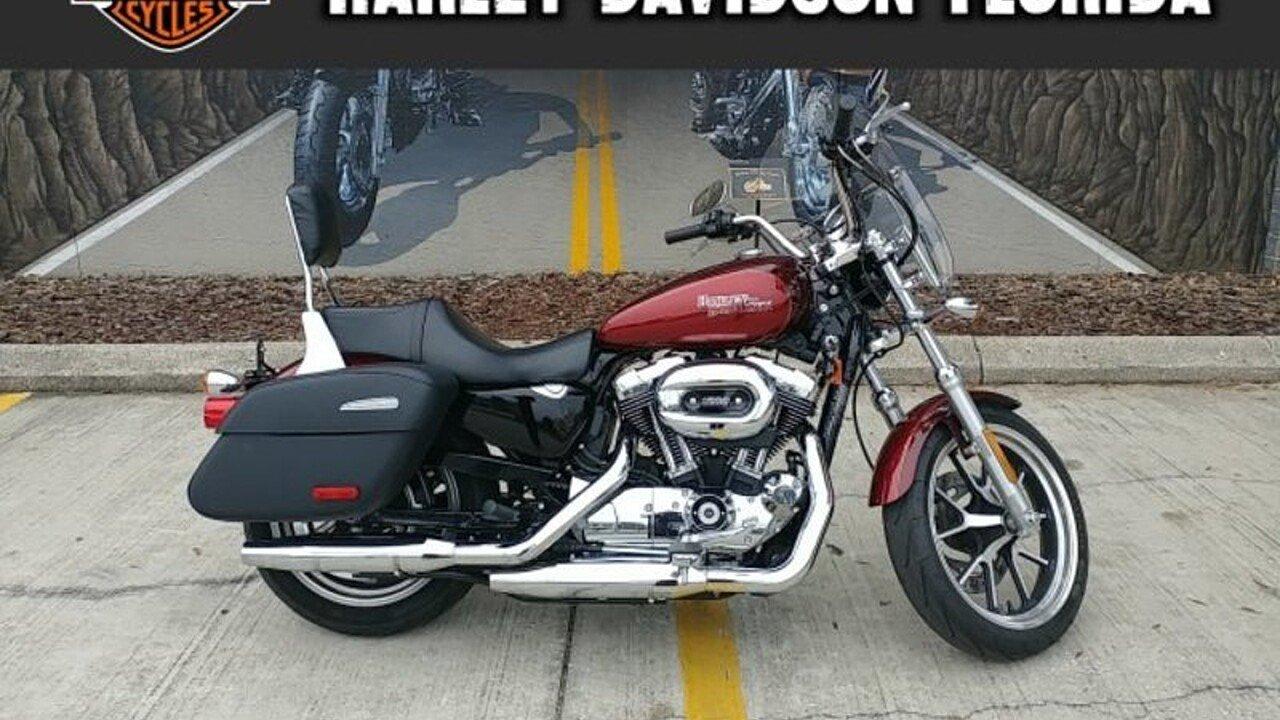 2017 Harley-Davidson Sportster SuperLow 1200T for sale 200525340