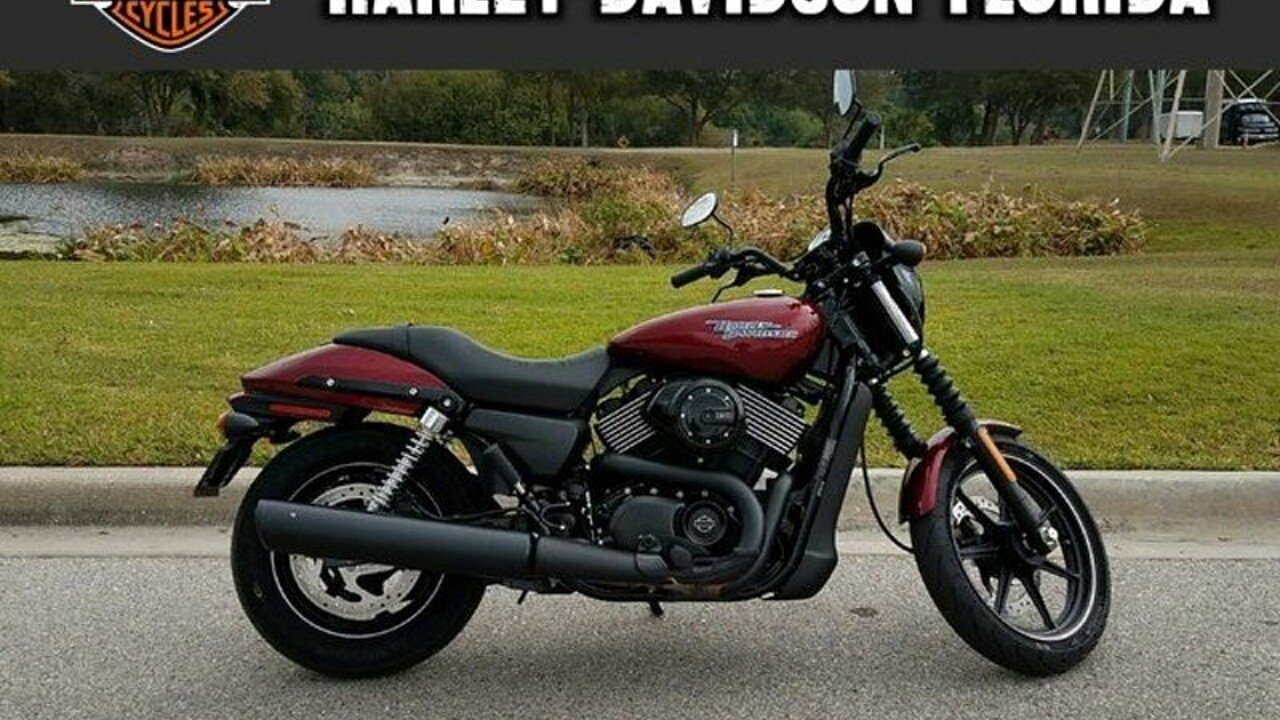 2017 Harley-Davidson Street 750 for sale 200525992