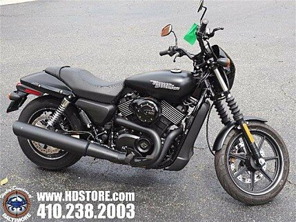 2017 Harley-Davidson Street 750 for sale 200611135