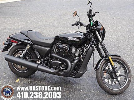 2017 Harley-Davidson Street 750 for sale 200611138