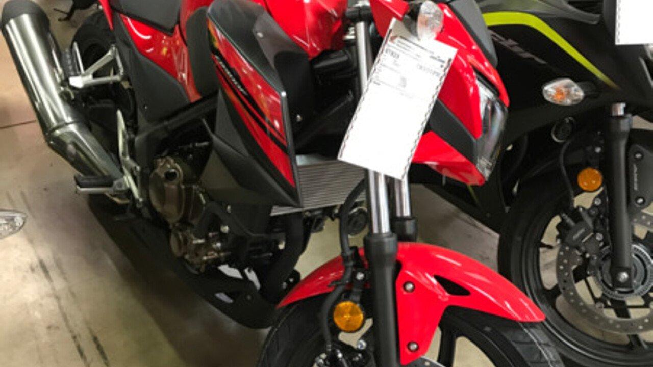 2017 Honda CB300F for sale 200501717