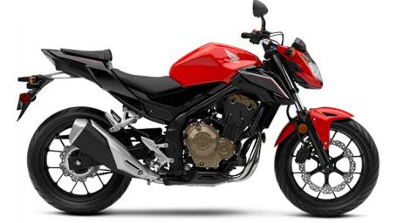2017 Honda CB500F for sale 200421777