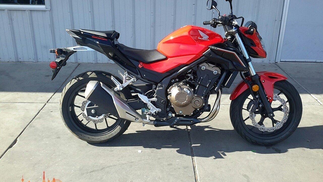 2017 Honda CB500F for sale 200435644