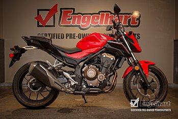 2017 Honda CB500F for sale 200582168