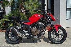 2017 Honda CB500F for sale 200571179