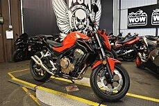 2017 Honda CB500F for sale 200628162