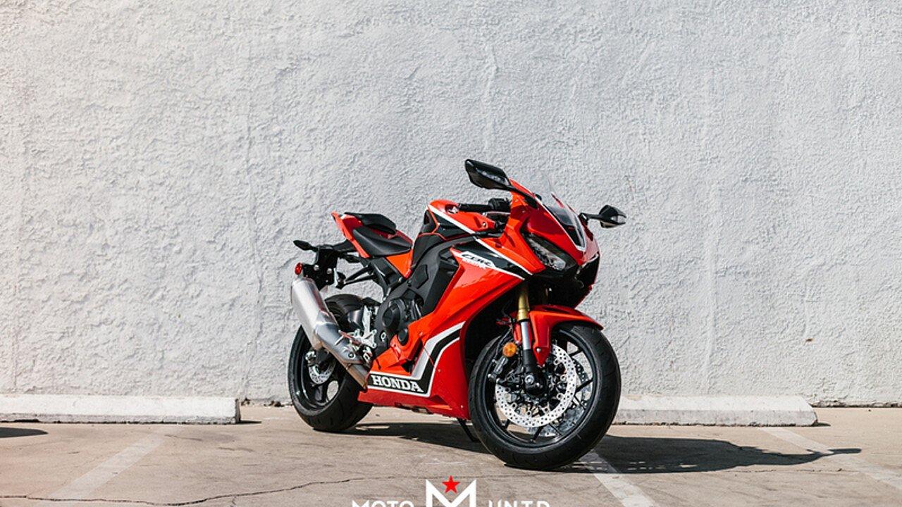2017 Honda CBR1000RR for sale 200502557