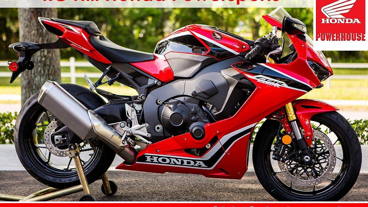 2017 Honda CBR1000RR for sale 200532450