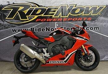 2017 Honda CBR1000RR for sale 200570508