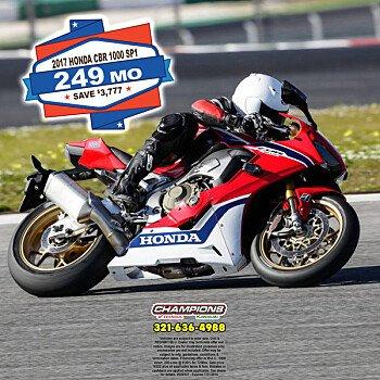 2017 Honda CBR1000RR SP for sale 200571180
