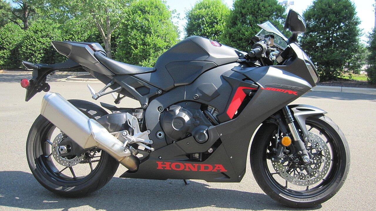 2017 Honda CBR1000RR for sale 200588110
