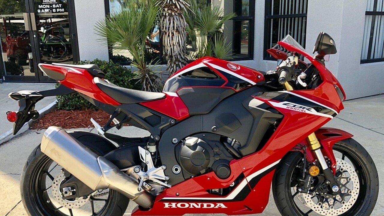 2017 Honda CBR1000RR for sale 200609580