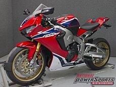 2017 Honda CBR1000RR SP for sale 200579531